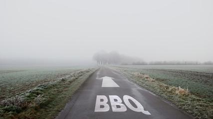 Schild 402 - BBQ