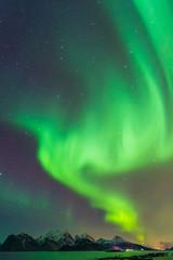 Polarlicht bei Myrland