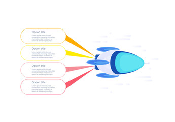 Rocket Startup Infographic
