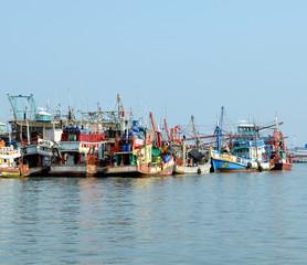 bateau de pêche en thailande