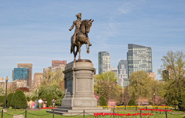 Boston Public Garden, Massachusetts