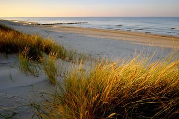 Morze Bałtyckie,wydmy,wybrzeże,Kołobrzeg,Polska
