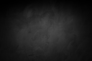 Dark room concrete background
