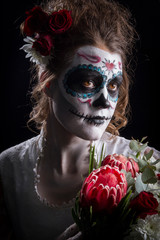 Day of the Dead and a burning heart