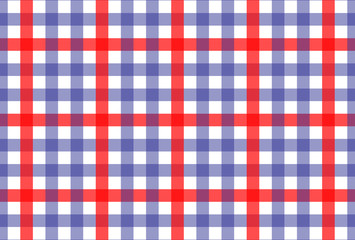 Gingham pattern.Red-Blue texture for textile products-shirt,tablecloths.Vector illustration.EPS-10.