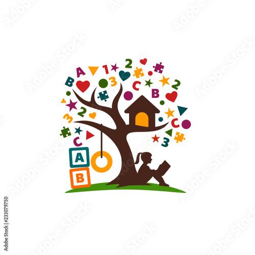 creative education logo design