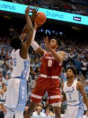 NCAA Basketball: Stanford at North Carolina
