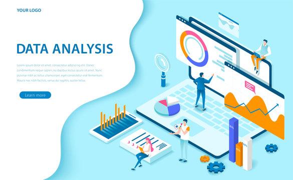 3d isometric Data analysis
