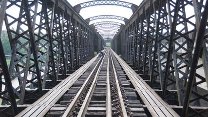 One of the earliest railway bridge in Malaya