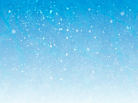 Holiday Winter background for Merry Christmas and Happy New Year