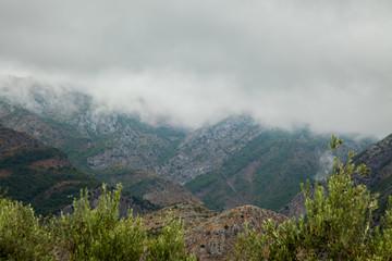 sky, landscape, mountain, cloud