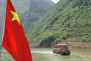 Ausflugsboot Shennong River, China