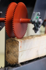 The image of a wood working machine