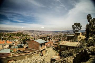 ボリビア、ラパス
