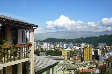 Quito Ecaudor city view