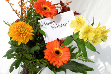 Blumenstrauss Geburtstagsstrauss