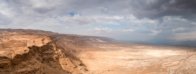 Masada in Israel and the judean desert Wall mural