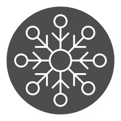 Snowflake solid icon. Snow vector illustration isolated on white. Frost glyph style design, designed for web and app. Eps 10.