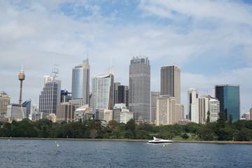 Wall Murals Sydney View of Sydney CBD Skyline in New South Wales, Australia
