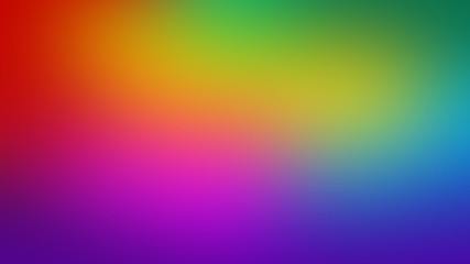 Abstract blurred gradient multicolor background
