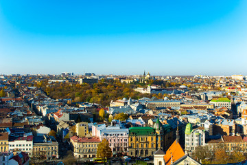 Panorama of the European city