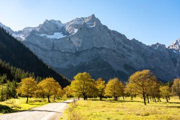 Österreich - Tirol - Herbst im Großen Ahornboden