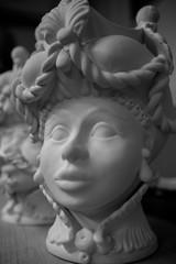 Cabezas de ceramica, Sicilia