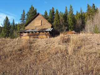 old mine building