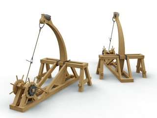 Catapult, Leonardo da Vinci, Codex Atlanticus 0141r.