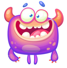 Cute funny monster