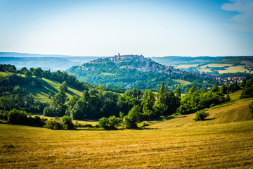 Cordes-sur-Ciel, Southern France.