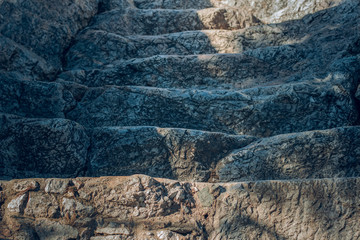 soft focus stone stairs surface background texture