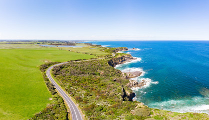 Foto op Textielframe Oceanië Bass Coastline