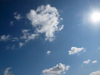 Wolken am Sommertag