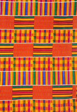 West African Kente Cloth