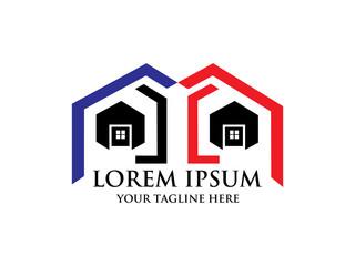 Real estate logo,home logo,house logo, property logo,building logo,vector logo template.