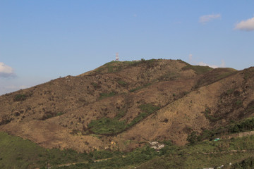 mountain landscape at Ma Tso Lung