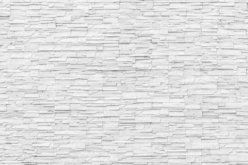 White marble brick stone tile wall texture background