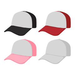 caps vector collection design