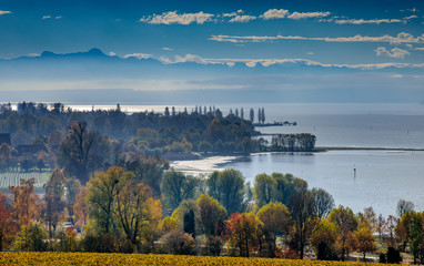 Automn at lake constance