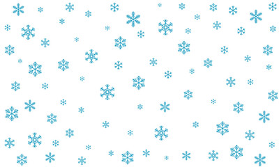 Background with snowflakes.. Vector eps-10