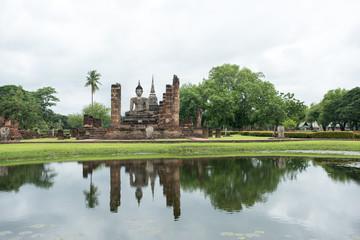 Sukhothai Historical Park, Unesco world heritage. of Thailand .