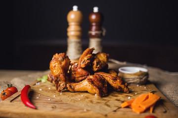 fried chicken rib