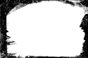 Black Tintype Photographic Edges for Landscape Photos