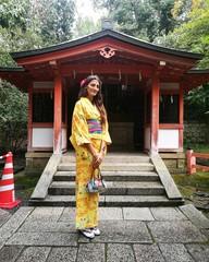 Ragazza in kimono