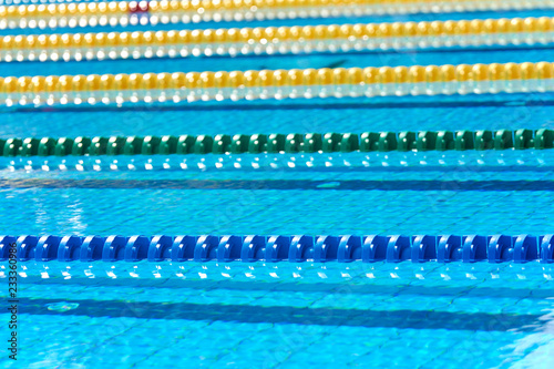 Swimming pool - lane lines swimming pool lane marker ...