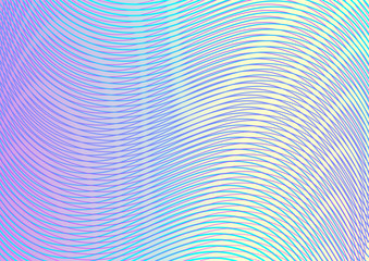 Colorful abstract gradient background with moire effect.