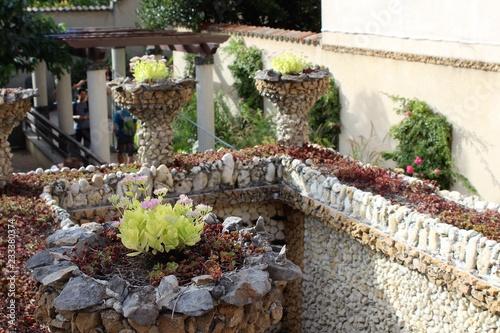 Lyon Jardin Rosa Mir A La Croix Rousse Photo Libre De Droits Sur