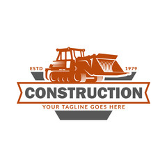 Vector of Construction Logo Design Template, suitable for Construction, Real Estate