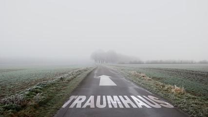 Schild 402 - Traumhaus